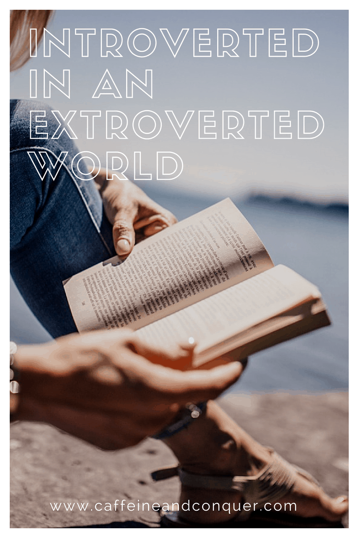 Introverted in an Extroverted World. Introverts Guide | Introvert Connections | Introverted Personality Type | Quiet | Extroversion vs Introversion #introverted #quiet #shy