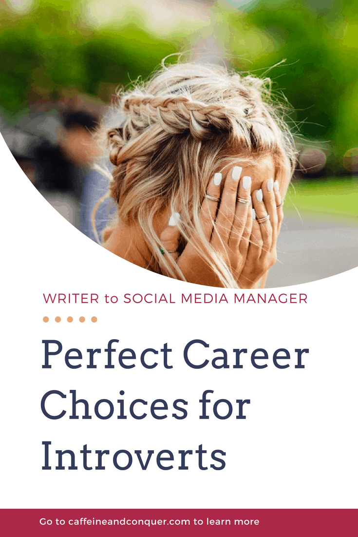 From writers to social media managers, there are certain career choices that are perfect for introverts. Quiet, distraction free with little social interaction means more energy and content with your career. Click to read more about introvert jobs or pin for later. #introvert #introverttips #introvertjobs