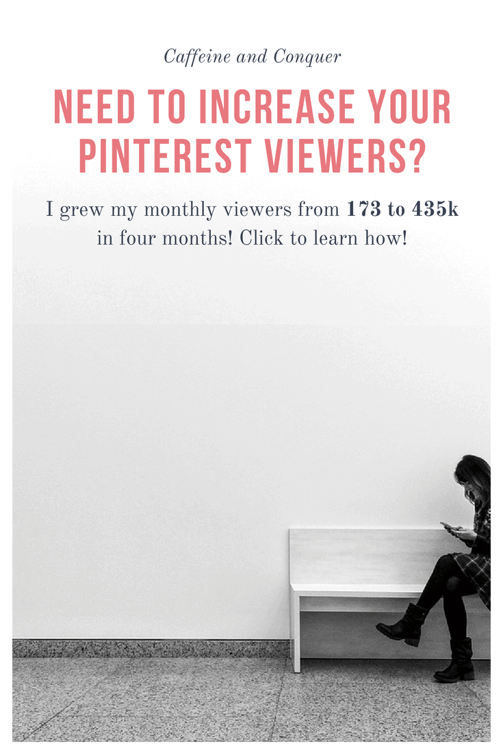 I grew my monthly Pinterest viewers from 173 to 435k in four months with Tailwind! Click to learn more! I launched my blog in February and with it came promoting. I never used Pinterest to its full potential until I needed it to run a business. Here are the strategies I used to grow my viewers. #pinterest #tailwind #socialmedia