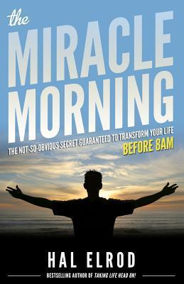 Book cover screenshot of The Miracle Morning by Hal Elrod, self-help books