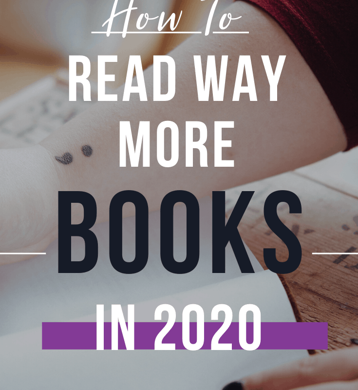 how to read way more books in 2020 pin 4
