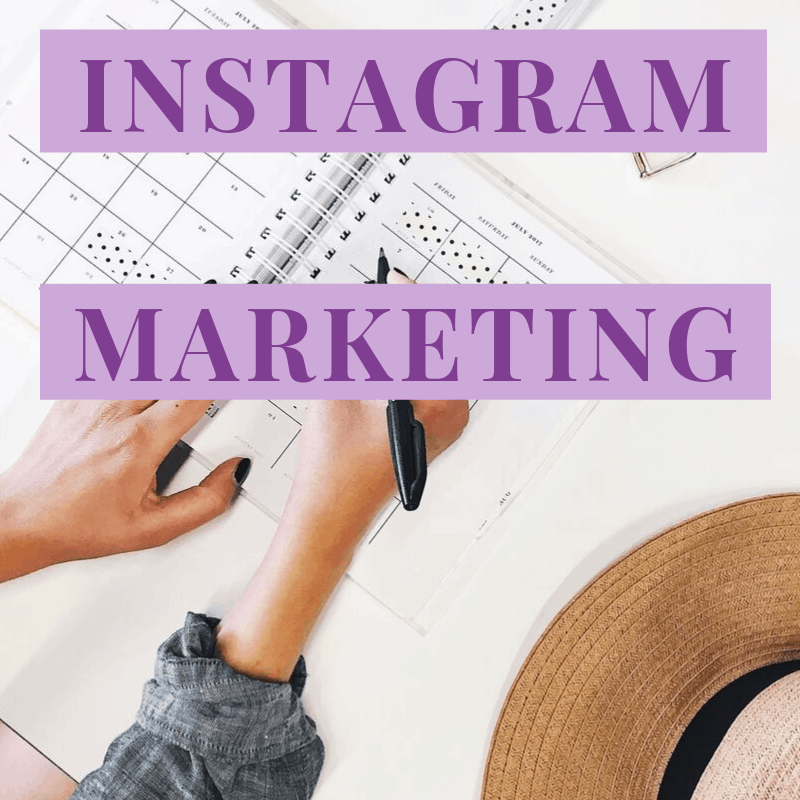 "A Pinterest image with text ""Pinterest and Instagram Marketing: Which One Is Right For You?"""
