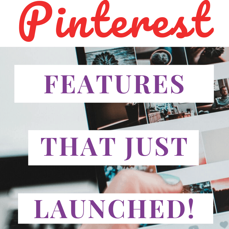 new Pinterest features that just launched pin