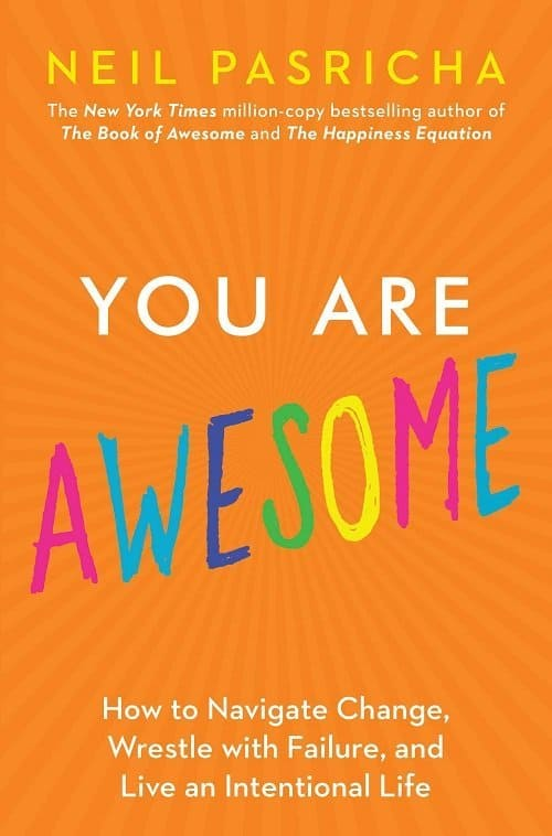 A book cover for You Are Awesome by Neil Pasricha