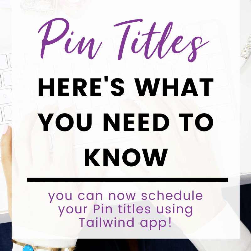 "A pinnable image: ""Pin Titles Here's What You Need To Know"""