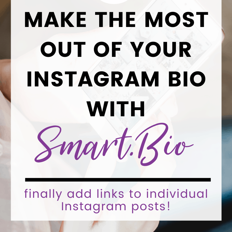 make the most out of your Instagram bio with Smart.Bio pin 1