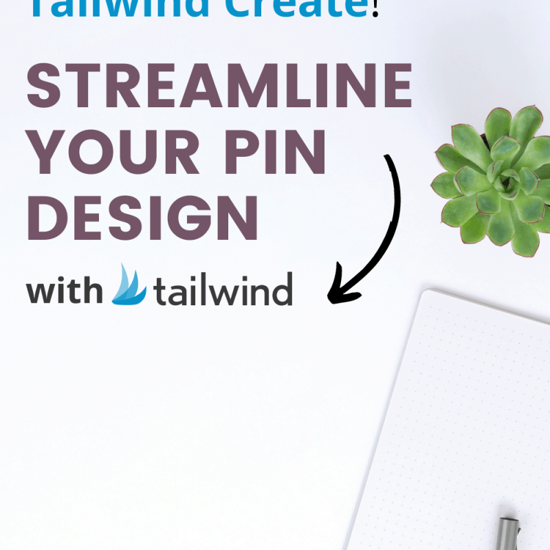 Save Time on Content Creation With Tailwind Create Pin Graphic
